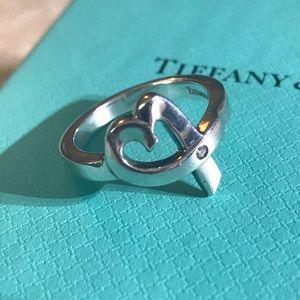 TIFFANY & CO Paloma Picasso DIAMOND Loving Heart